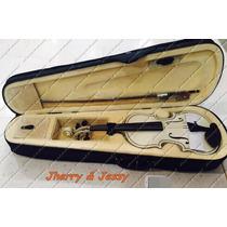 Violino Marinos 1/2 Infantil Completo Arco Breu Estojo Luxo