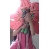 Flor Lirio En Goma Espuma Para Disfraz
