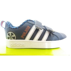 wholesale dealer 34a6f d7822 Zapatillas adidas 26 Motivo Policia Impecables Niño Nene