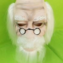 Mascara Latex Viejito Con Barba Obras De Teatro