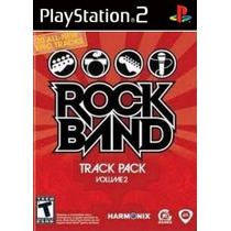 Comprar Jogos Patch Rock Band Track Pack Vol 2 Play 2 Ps2