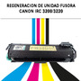 Regeneración Unidad Fusora Canon Irc 3200/3220