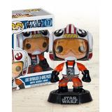 Funko Pop Luke Skywalker Pilot Star Wars Guerra Nas Estrelas