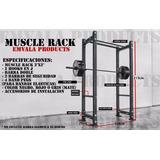 Muscle Power Rack! Gym Dominadas Sentadillas Crossfit Tr