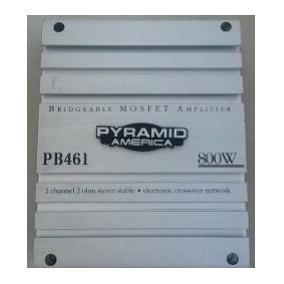 Amplificador Planta Pyramid 800w Modelo Pb461
