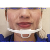 Mascara Cubre Boca Plástica 10 Pz