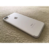 Iphone 7 Plus 256g Impecable Silver C/factura De Compra