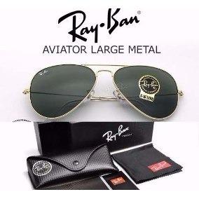 culos Ray Ban Aviador (tamanho 55014) Armacoes - Óculos no Mercado ... ee57cb8d42