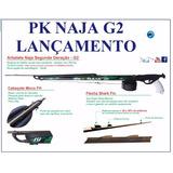 Arbalete Pk Naja G2 Dual Promoção De Lançamento 80 A 130 Cm