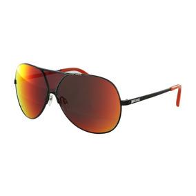 Óculos De Sol Just Cavalli Máscara Preto