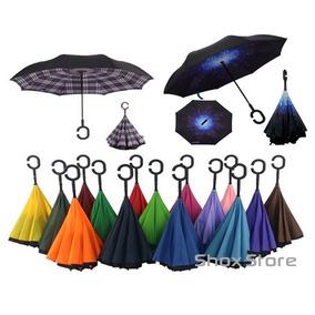 Paraguas Invertido Reversible Original Tv Reforzado Palermo