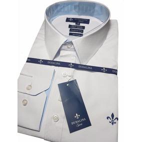 Camisa Social Dudalina Branca Original Frete Grátis