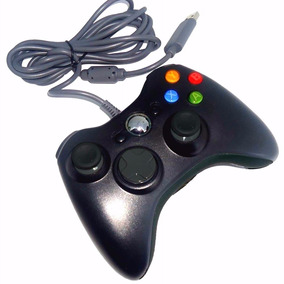 Controle Com Fio Xbox 360 E Pc Slim Joystick- Pronta Entrega