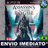 Ps3 Assassins Creed Rogue Código Psn Português Promoção