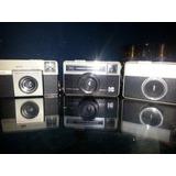 Colección De Cámaras Antiguas Kodak Instamatic. Tres Piezas
