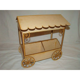 Kiosco Fibrofacil Mdf Candy Bar Decoracion Mesa Dulce