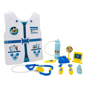 Conjunto De Acessórios - Kit Médico Com Colete - Disney -