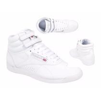 Tenis Casual Bota Reebok Freestyle Hi 2431 Id 120349 Blanco