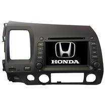 Central Multimídia New Civic Honda 2007 2008 2009 2010 2011