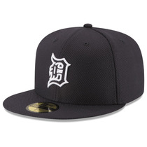New Era Gorra Mlb Tigres Detroit 5950 Diamond Era 7 1/4 On F