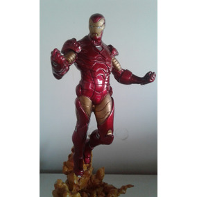 Iron Man De Resina E Pintura Automotiva