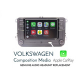Estereo Car Play Vw Rcd330 Jetta Bora Golf Gti Carplay Polo