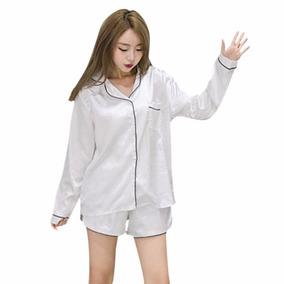 Pijama Satianda Tipo Camisa Kawaii Moda Coreana Sexy Mod.292