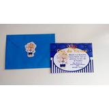Convite Para Chá De Bebê Com Envelope 10 Unidades