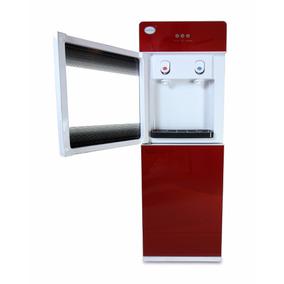 Despachador Enfriador De Agua Rojo Bg Puerta De Protección
