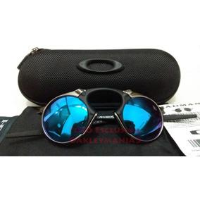 62dfc373a2d1c Oakley Plate Grafite Lente Azul - Óculos no Mercado Livre Brasil