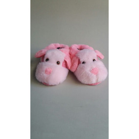 Pantufa Cachorro Rosa Atacado Quente Barato Pijama Bonito
