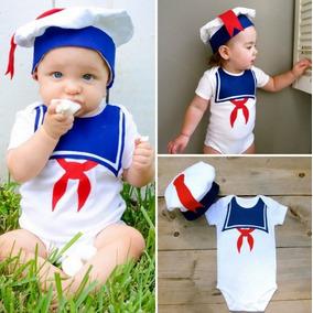 Roupa Bebê Kit Body Marinheiro Fantasia Menino Top Importado