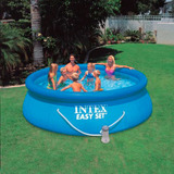 Pileta Inflable Intex Easy Set Con Bomba Filtrante