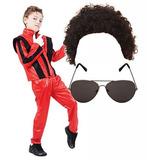 Disfraz Para Niño Niños De Michael Jackson 80s, Disfraz, Co
