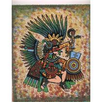 Cuadro De Arena Prehispanico Xipe-tótec