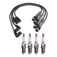 Kit Cables + Bujias Ferrazzi Volkswagen Suran 1.6 8v 10/14
