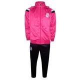 Agasalho Real Madrid Pink ( Somente No Tamanho M )