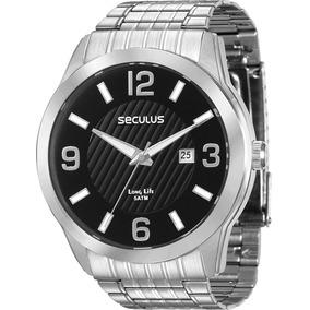 Relógio Seculus Masculino Long Life 28837g0svna1