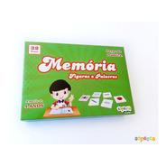 Jogo Da Memória Figuras E Palavras 32 Peças - Sopecca Me600