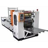 Maquina Para Fabricar Toallas Intercaladas De 3 Pliegues