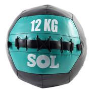Pelota Con Peso Medicine Ball 12 Kg Sol Fitness