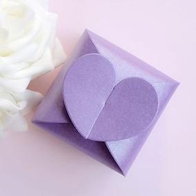 Cajas De 50/100 Amor Corazón Caramelo Fiesta Bebé Ducha