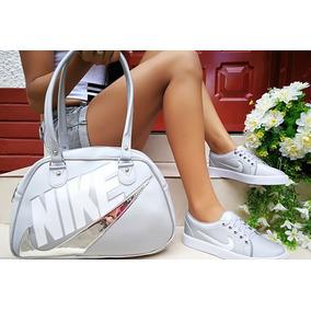 Hermoso Combo De Zapatillas Tenis Y Bolso Calidad Colombiana