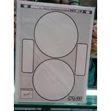 Label Imprimible Adhesivo Para Cd O Dvd Paquete De 50 Hojas