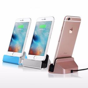 Lote De 5 Bases Dock Iphone 5 6 7 Ipad Y Ipod Carga Sinc
