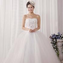 Vestido De Noiva Luxo Organza Importado Pronta Entrega