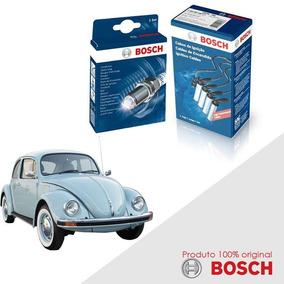 Kit Jogo Cabo+velas Original Bosch Fusca 1.3 8v Gas 68-83