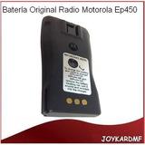 Batería Original Radio Transmisor Portátil Motorola Ep450