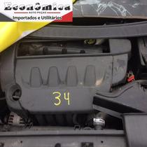 Motor Parcial Peugeot 307 Premiun 2011 A Base De Troca