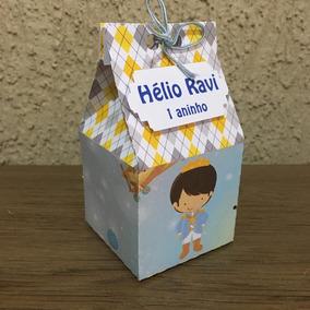 Caixa Milk Personalizada Pequeno Príncipe 20 Unidades